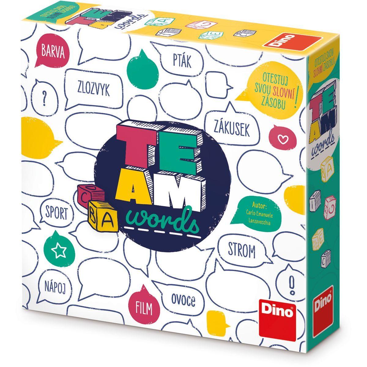 Dino Team Words Párty hra