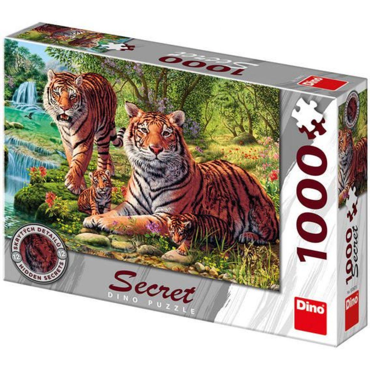 Dino SECRET COLLECTION: Tigre 1000 dielov