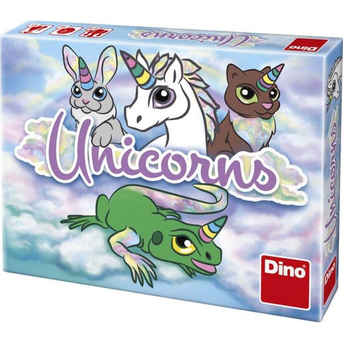 Dino Unicorns cestovná hra