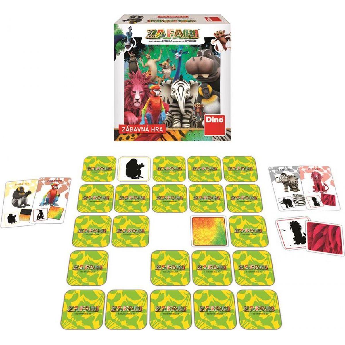 Dino Zafar detská hra