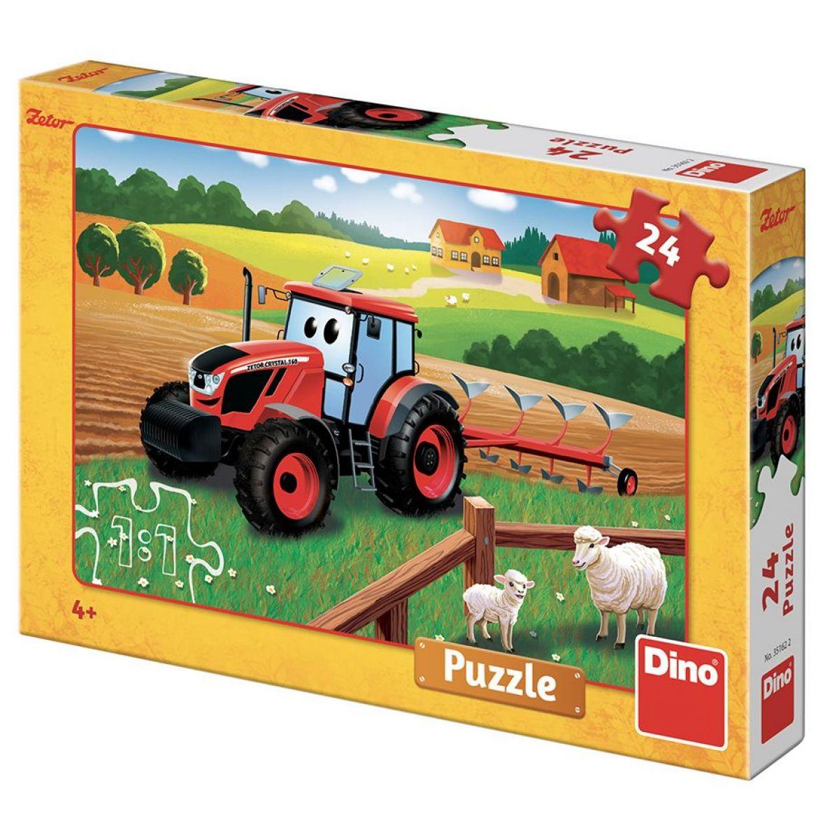 Dino Puzzle Zetor orba 24 dielikov