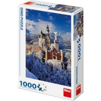 DINO Zimné Neuschwanstein 1000 dielikov