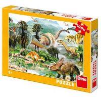 Dino Život dinosaurov Puzzle 100 XL dielikov