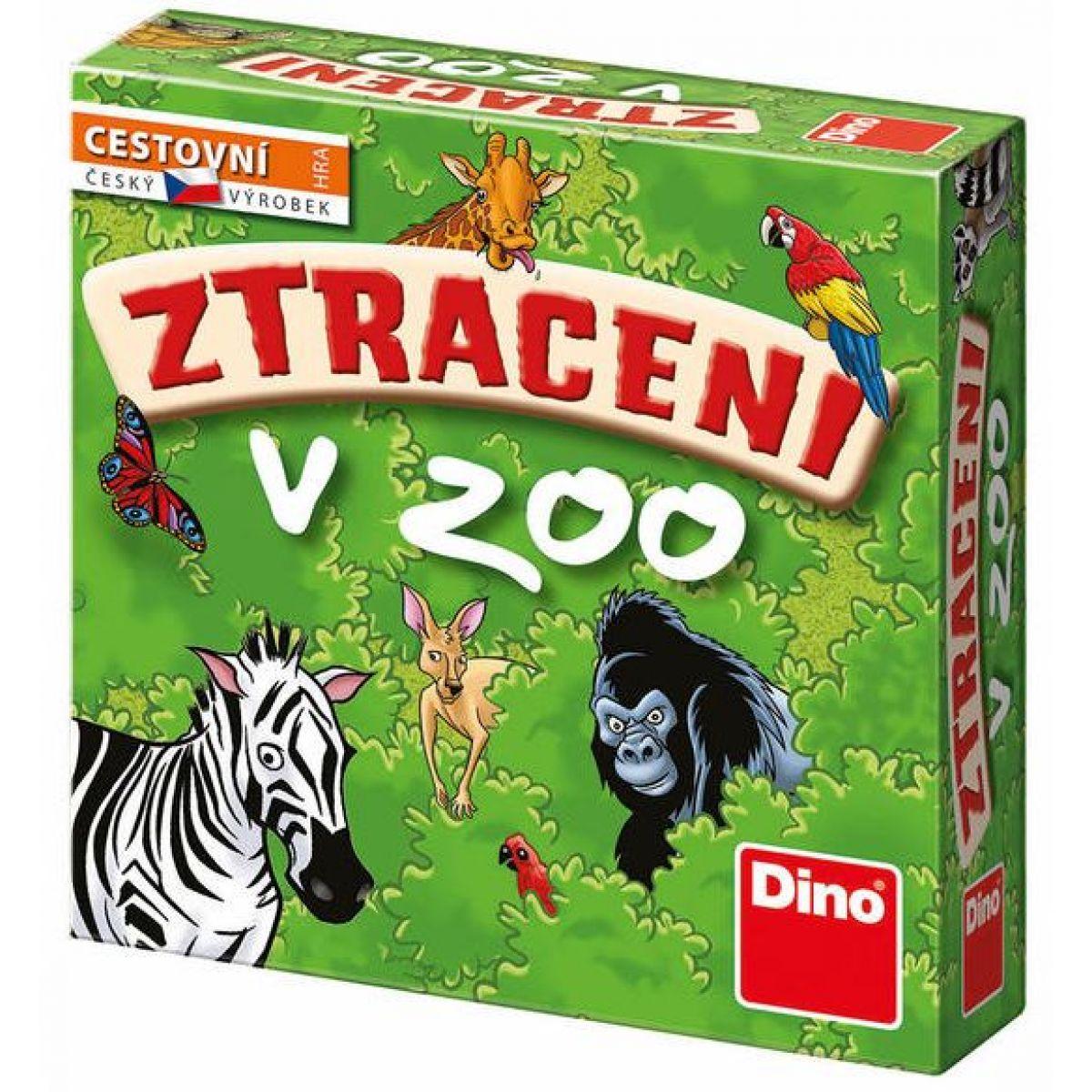 Dino Stratení v Zoo