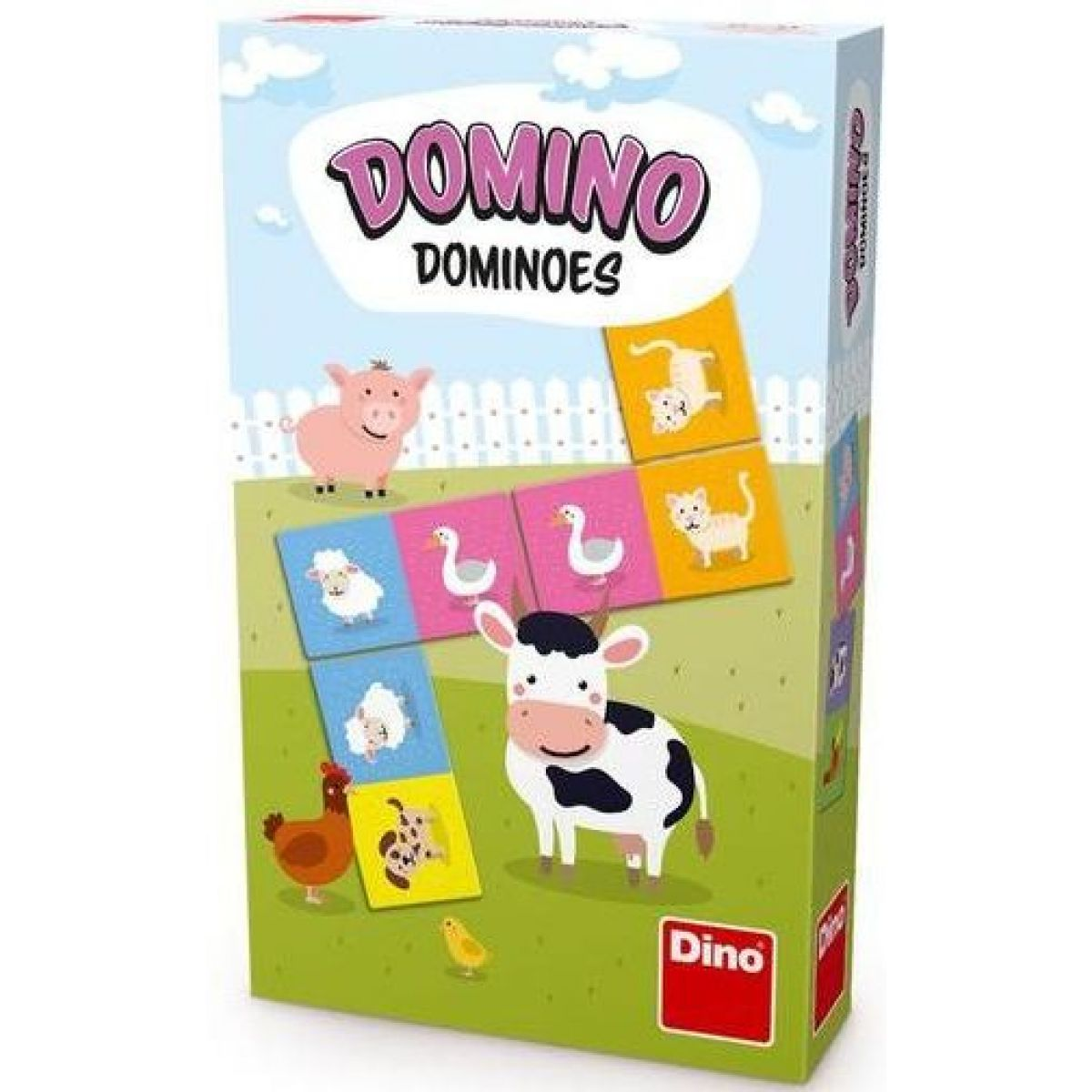Dino Zvieratká Domino