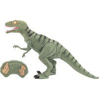 Dinosaurus chodící IC velociraptor 50 cm se zvuky a světly zelený