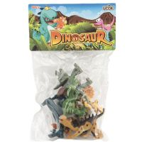 Dinosaurus plastový balenie 6 ks 2