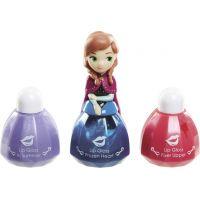 Disney Frozen Little Kingdom Make up pro princezny Anna modrá a lesky na rty