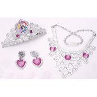 Disney princezné  Set s korunkou a šperkami pre princeznú