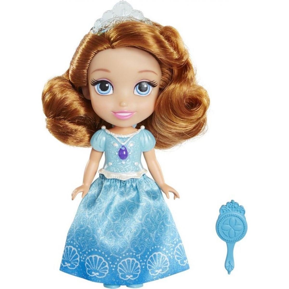 Jakks Disney Sofie První panenka 15 cm Modré šaty