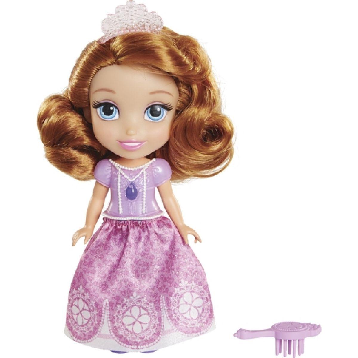 Jakks Disney Sofie První panenka 15 cm Růžové šaty