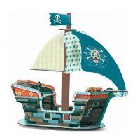 Djeco 3D Pirátská  loď