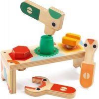 Djeco Drevený stôl pre malých kutilov