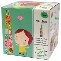 Djeco krabičková veža Les