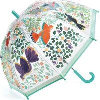 Djeco Krásny dizajnový dáždnik kvety a vtáky