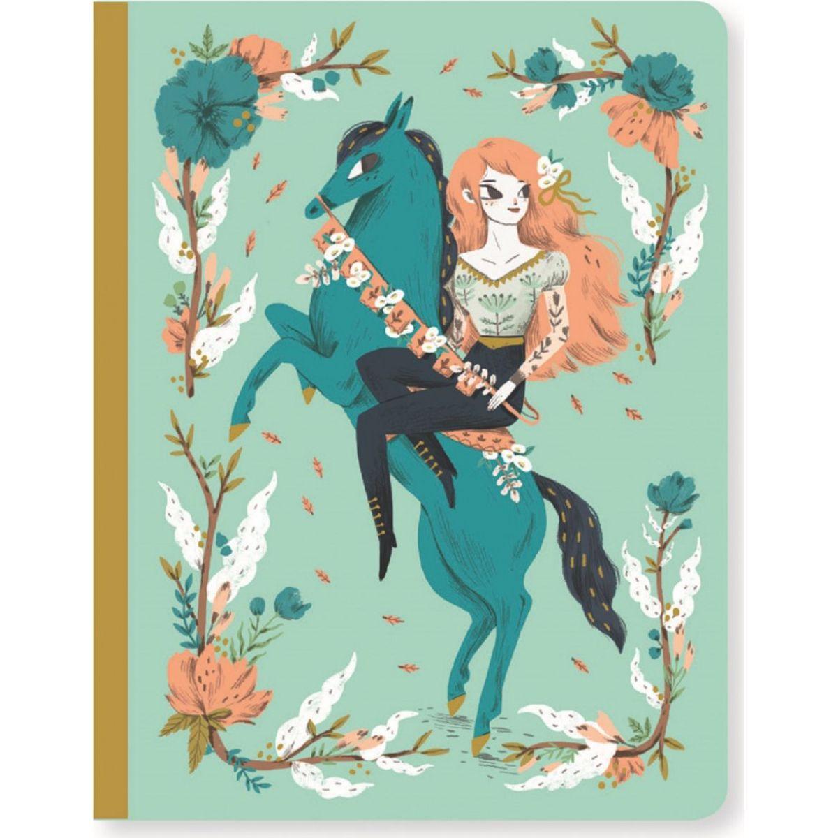 Djeco Krásny designový zápisník Lucille a koník