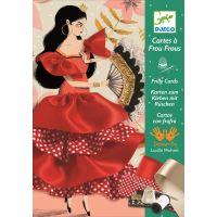 Djeco Karty na prišívanie Flamenco DJ08674