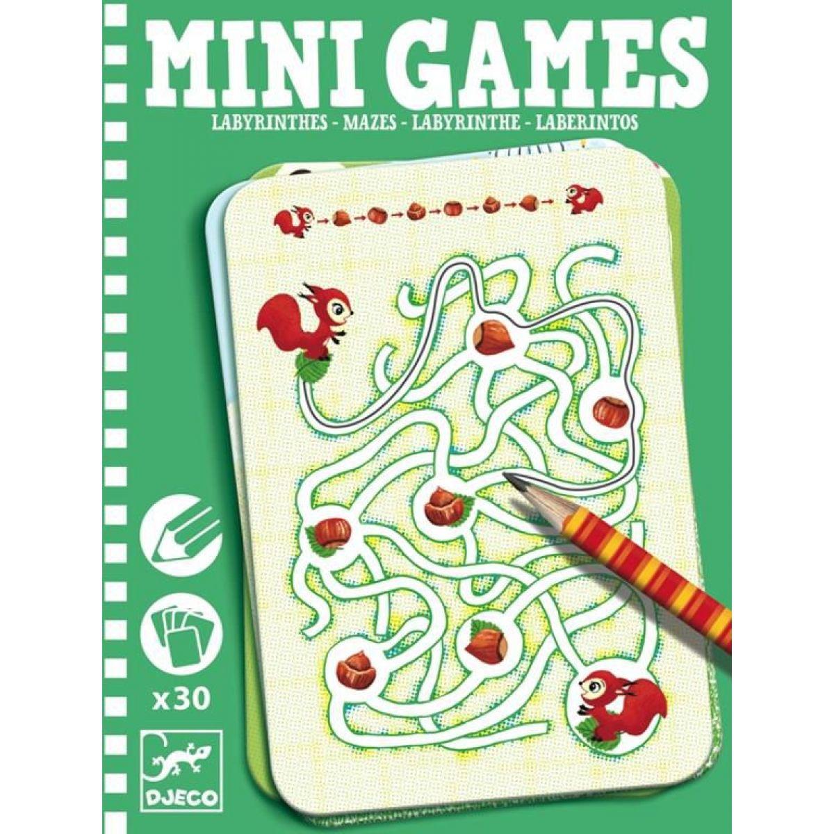 Djeco Mini Games: Labyrint