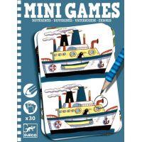 Djeco Mini Games Nájdi rozdiely Rémi