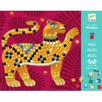 Djeco Mozaikové obrázky s drahokamy Jungle