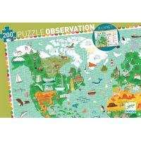 Djeco Obrazové puzzle Kolem světa