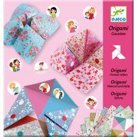 Djeco Origami skladačka Nebe peklo raj Dievčenské