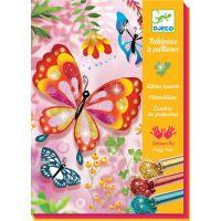 Djeco Pískování Třpytiví motýlci