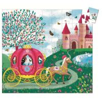 Djeco Puzzle Elisa v kočiari 2