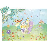Djeco Puzzle Jarná princezná