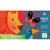 Djeco Puzzle veľké Promenáda 36 dielikov