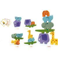 Djeco Puzzlové kocky zvieratká zo Zoo