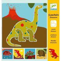Djeco Šablóny dinosaury
