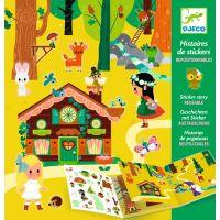 Djeco Samolepkové príbehy Magický les