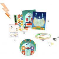 Djeco Svetielkujúce obrázky Roboti 2