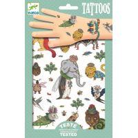 Djeco Tetování Přeházená zvířátka