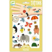Djeco Tetování Roztomilá zvířátka