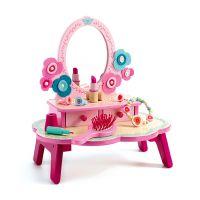 Djeco Toaletný stolík kvietky