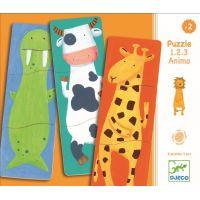 Djeco Veselá zvieratká puzzle