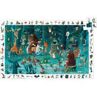 Djeco Vyhľadávacie puzzle Lesný orchester