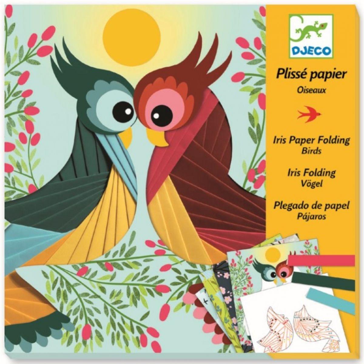 Djeco Výtvarná sada Vtáčiky