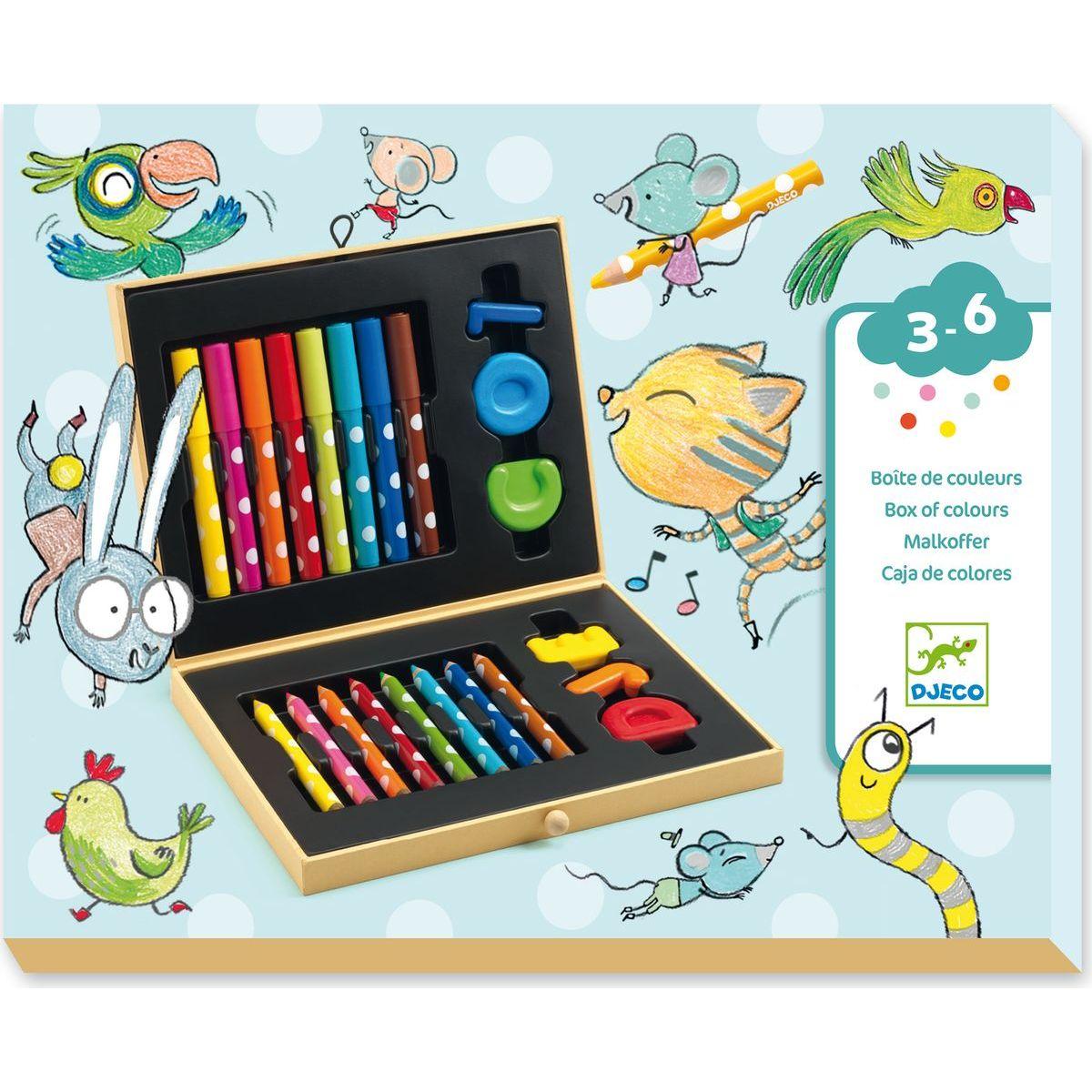 Djeco výtvarnícke kufrík pre najmenších