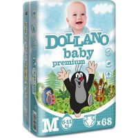 Dollano Baby Krtko Premium M 68 ks