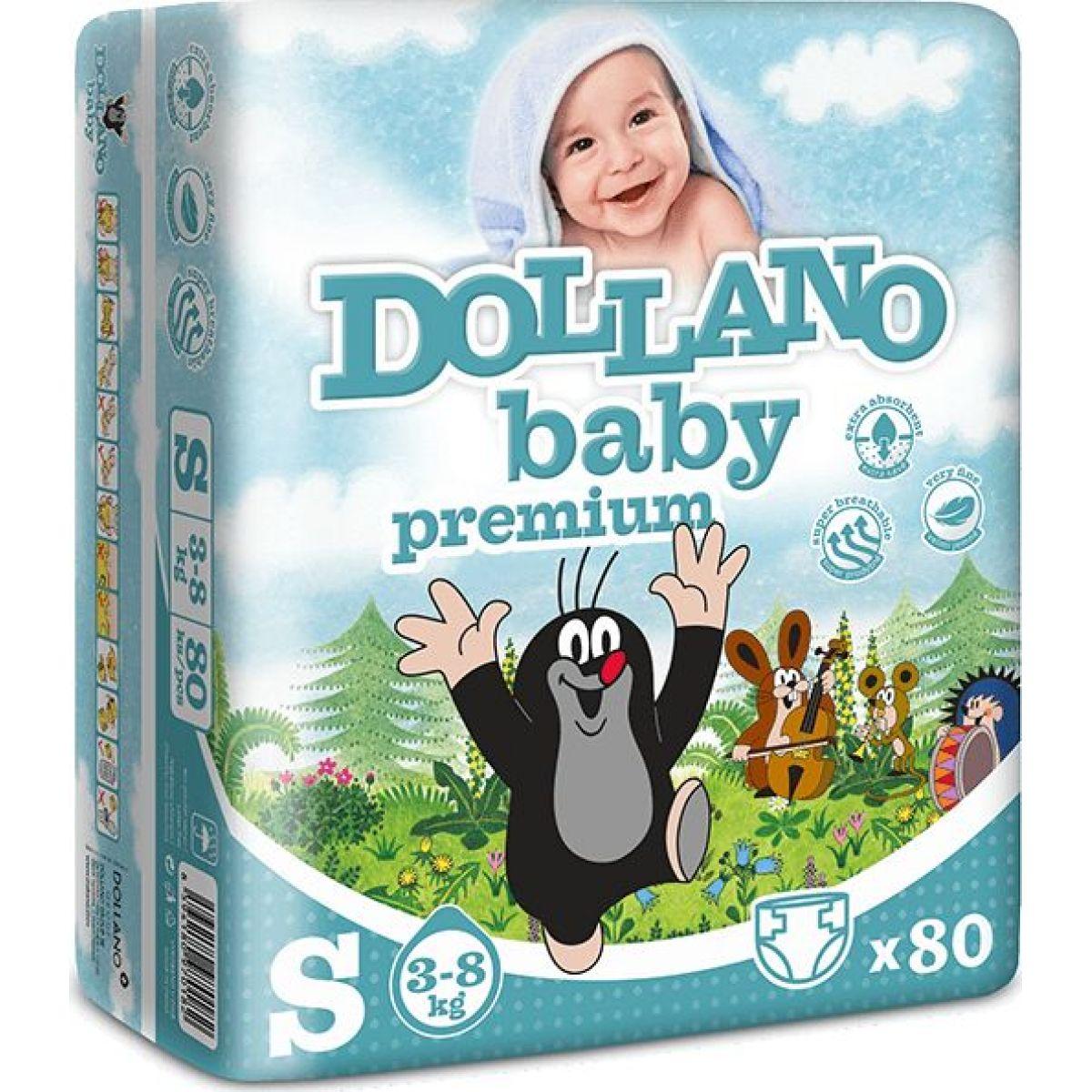 Dollano Baby Krtko Premium S 80Ks 3 -8Kg