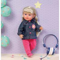Dolly Moda Bundičky 38-46 cm modrá 2