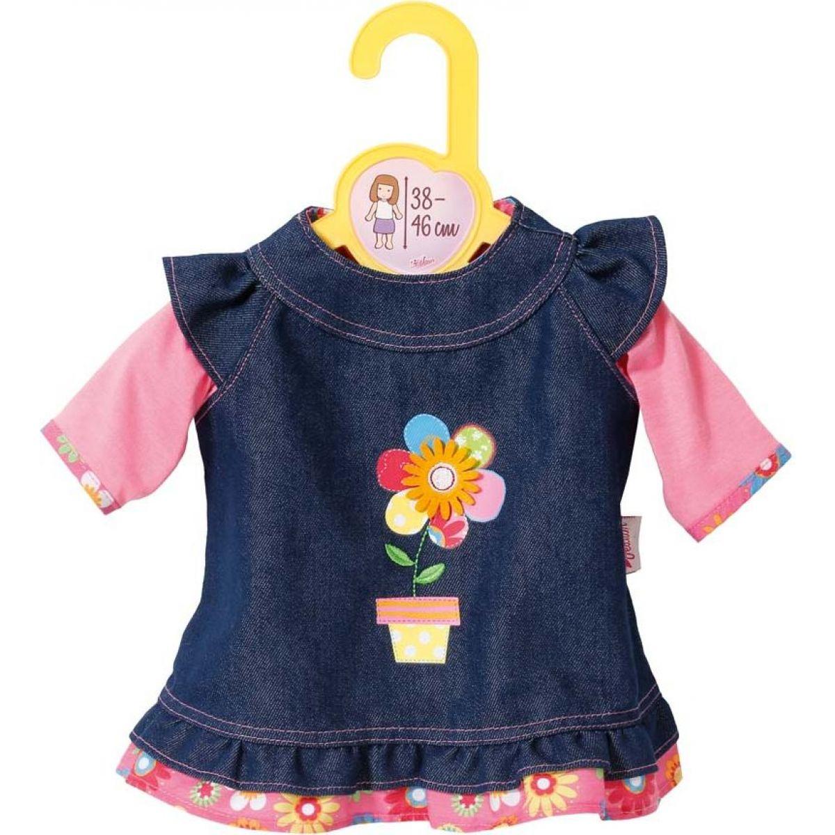 Zapf Creation Dolly Moda Džínsové šatičky 38-46 cm