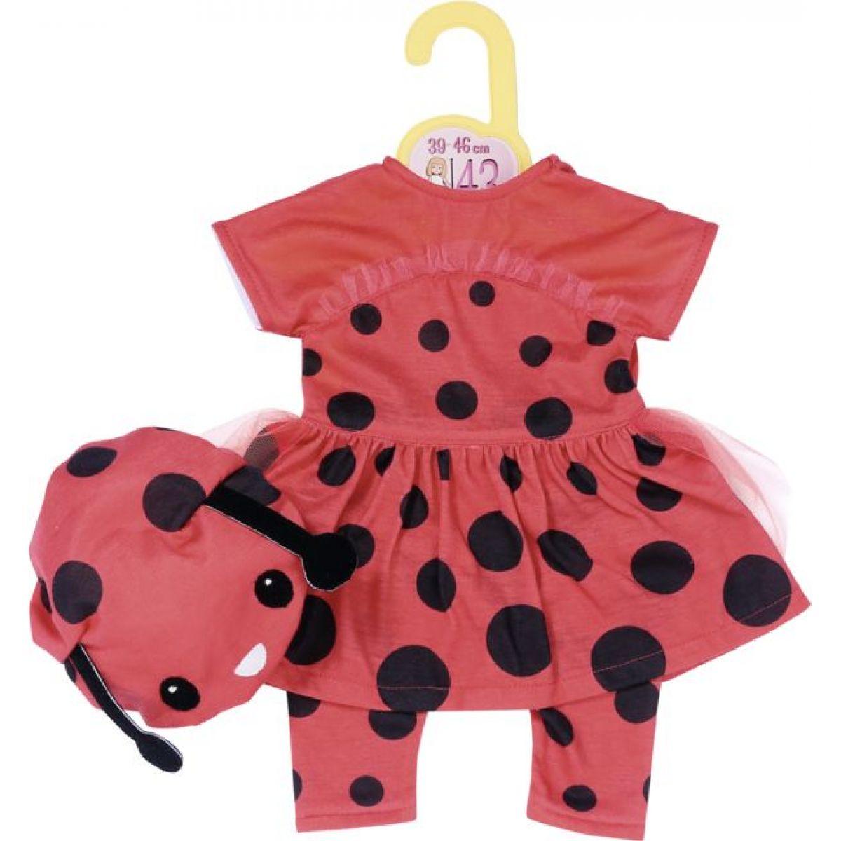 Zapf Creation Dolly Moda Oblečenie Lienka, 43 cm