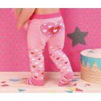 Zapf Creation Dolly Moda Punčocháče 2 ks biele a ružové 2
