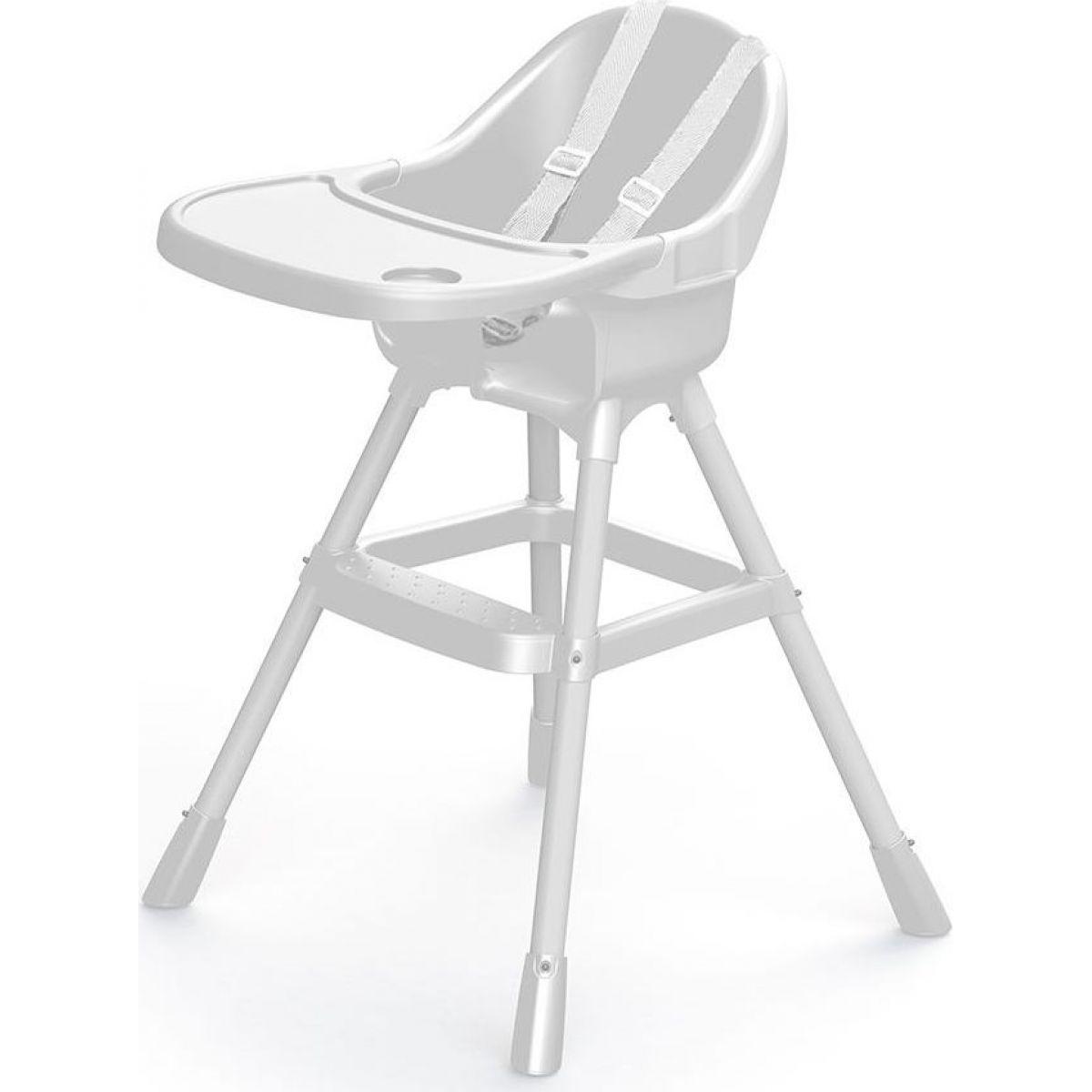 Dolu Detská jedálenská stolička biela