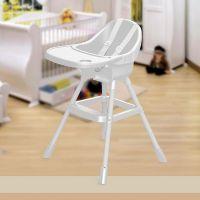 Dolu Detská jedálenská stolička biela 2