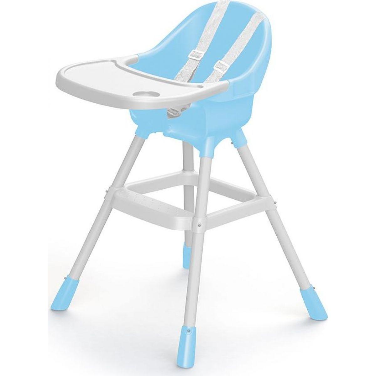 Dolu Detská jedálenská stolička modrá